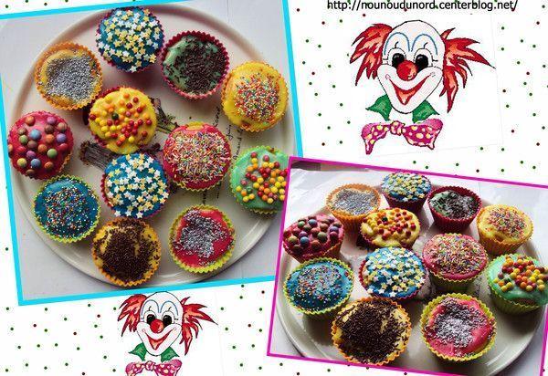 Go ter du carnaval des cupcakes f vrier 2012 recette cupcakes maternelle - Dessin gouter ...