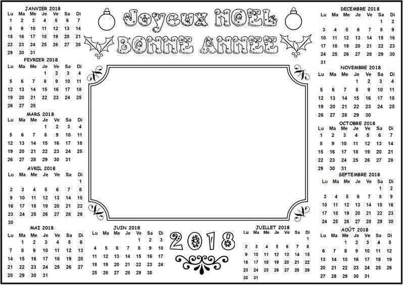 Assez calendrier-2018-horizontale-1-  NQ98