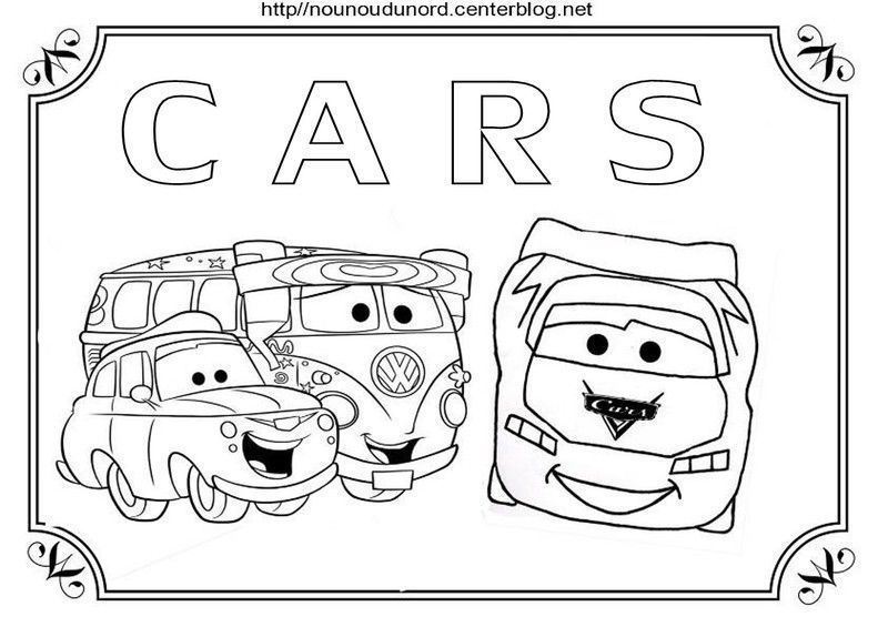 Coloriages cars - Coloriages de cars ...