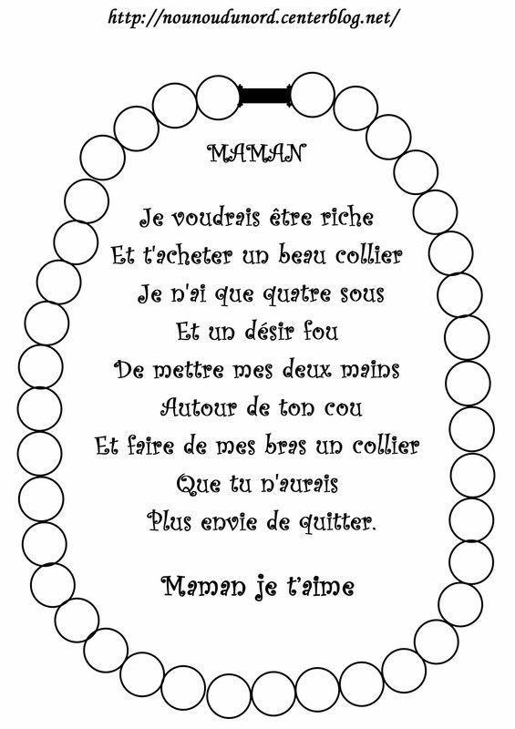 Poemes Fete Des Meres Mamies