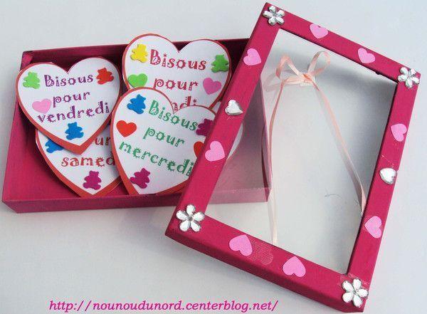 Bo te bisous pour offrir lola - Cadeau pour parents a fabriquer ...