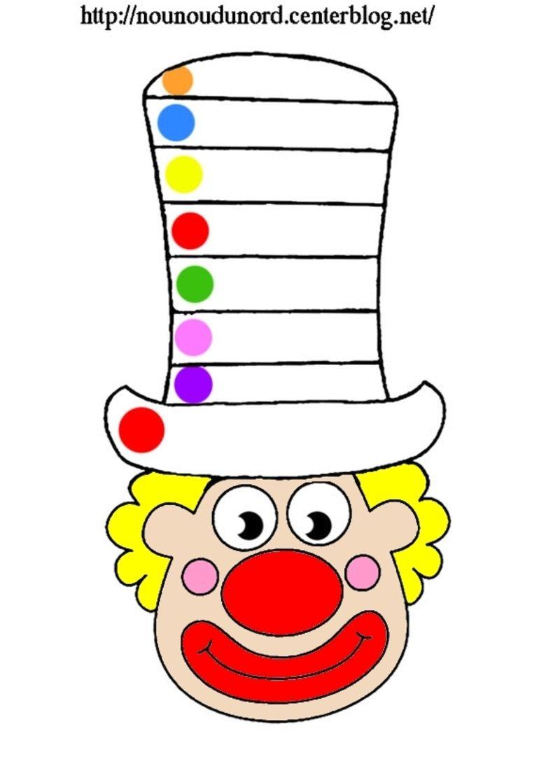 Coloriage clown - Photo de clown a imprimer ...