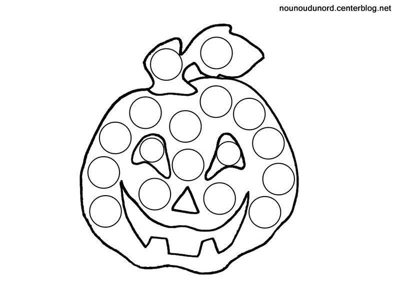 Coloriage citrouille - Citrouille halloween dessin ...