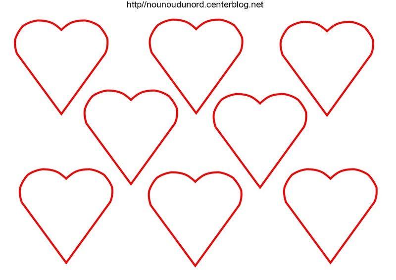Bisous coeurs pour tous les jours de la semaine - Dessin de bisous ...