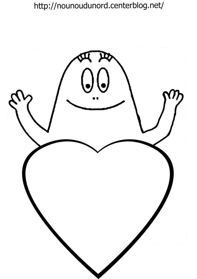 coloriage barbapapa c0