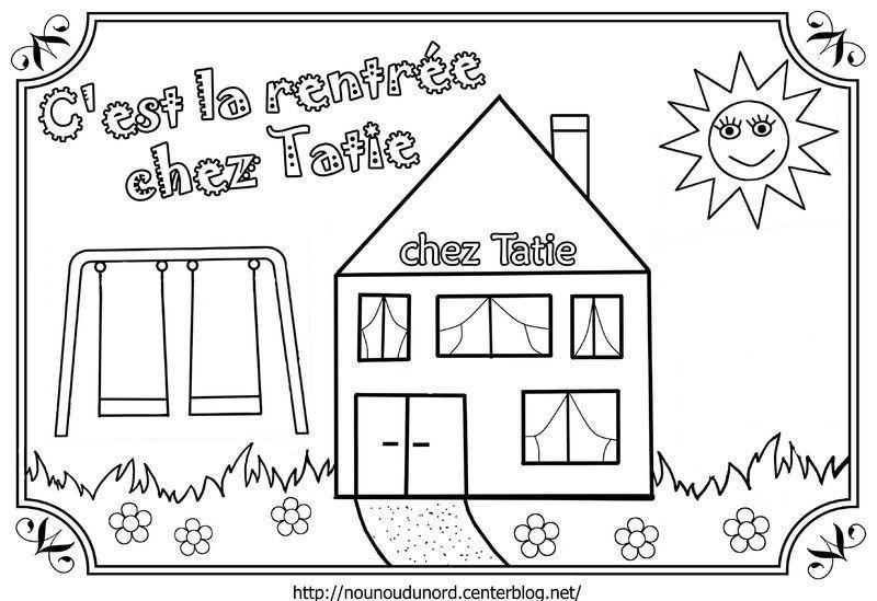 Coloriage ecole crayon cartable - Dessin classe ...