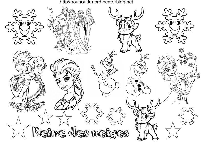 Top coloriage-reine-des-neiges-en-  HS74