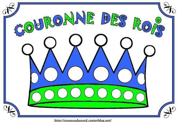 Coloriage galette des rois epiphanie - Couronne epiphanie maternelle ...