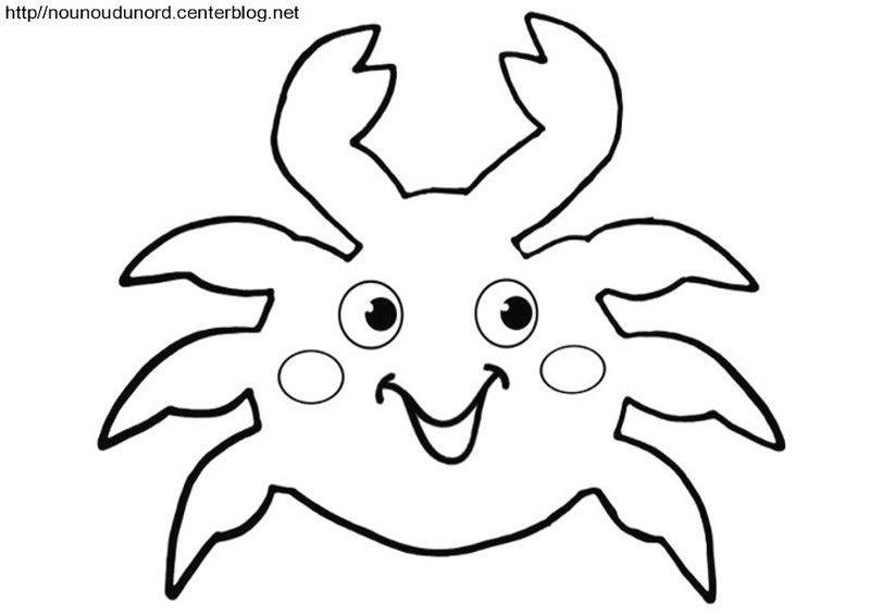 Petit crabe avec une coquille st jacques 2012 - Coquille saint jacques dessin ...