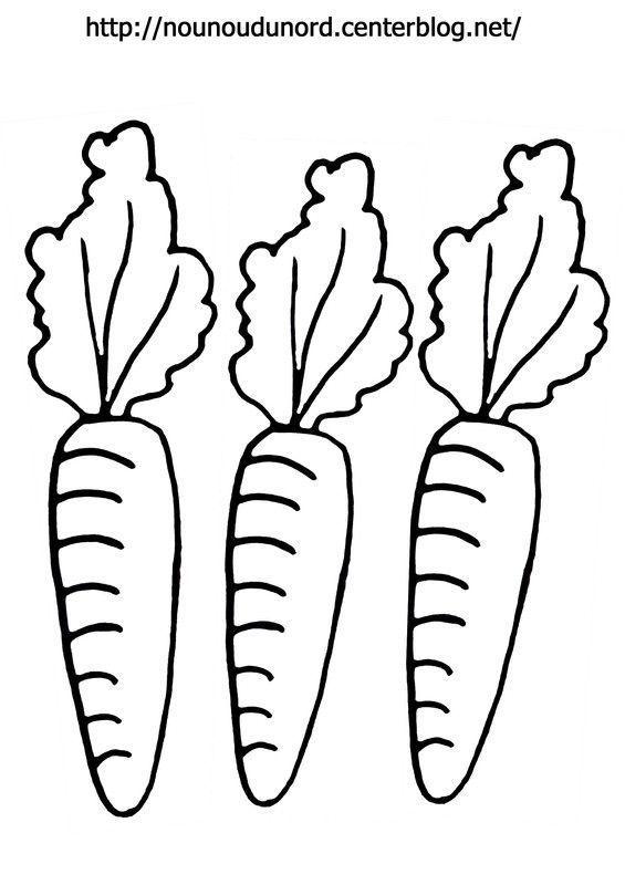Coloriage paques carotte - Carotte coloriage ...
