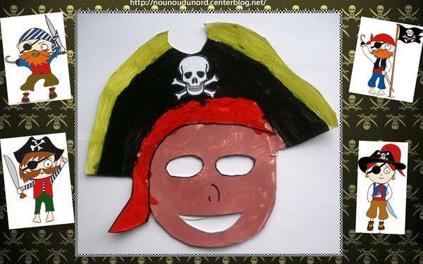 masque pirate pour le carnaval f vrier 2013. Black Bedroom Furniture Sets. Home Design Ideas