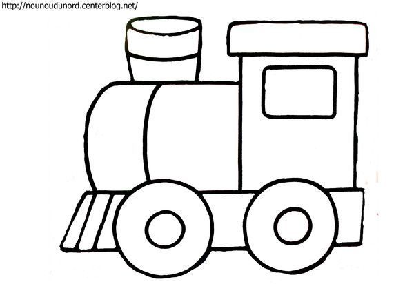 Coloriage train dessin par nounoudunord - Thomas le petit train coloriage ...