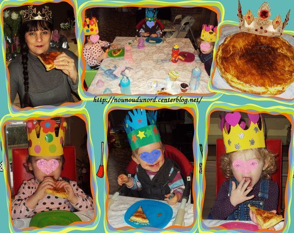 Nous avons dégusté la galette des rois