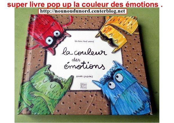 Livre La Couleur Des Emotions Centerblog