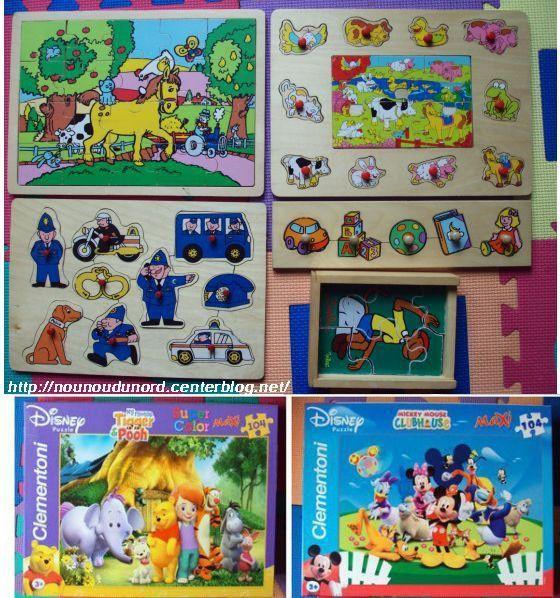 Les  puzzles pour tous les âges