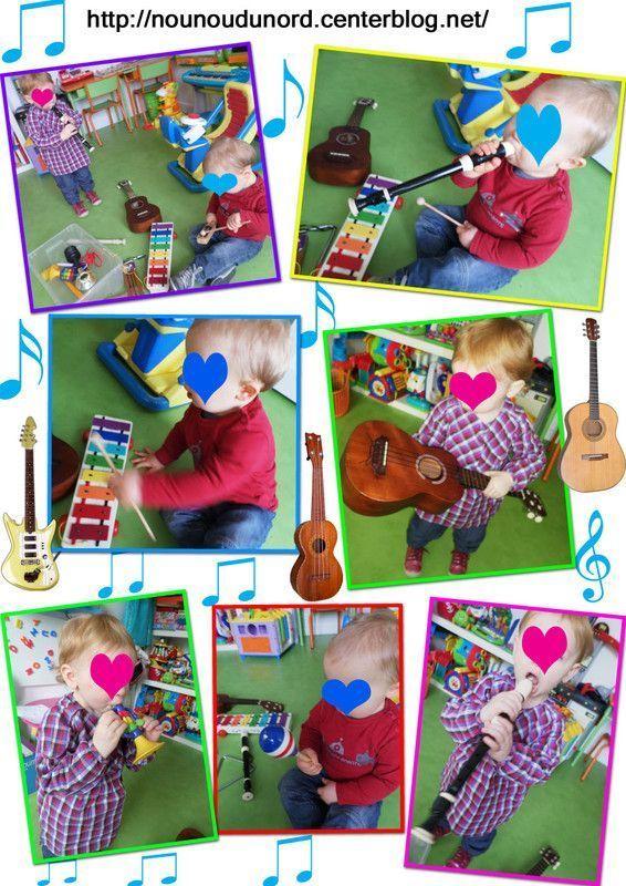 Découverte des instruments de musiques pour les petits