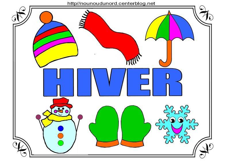 Hiver Pole Nord A Colorier A Gommettes Et En Couleur