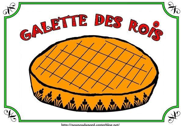 Coloriage la galette des rois dessin par nounoudunord - Galette des rois image ...