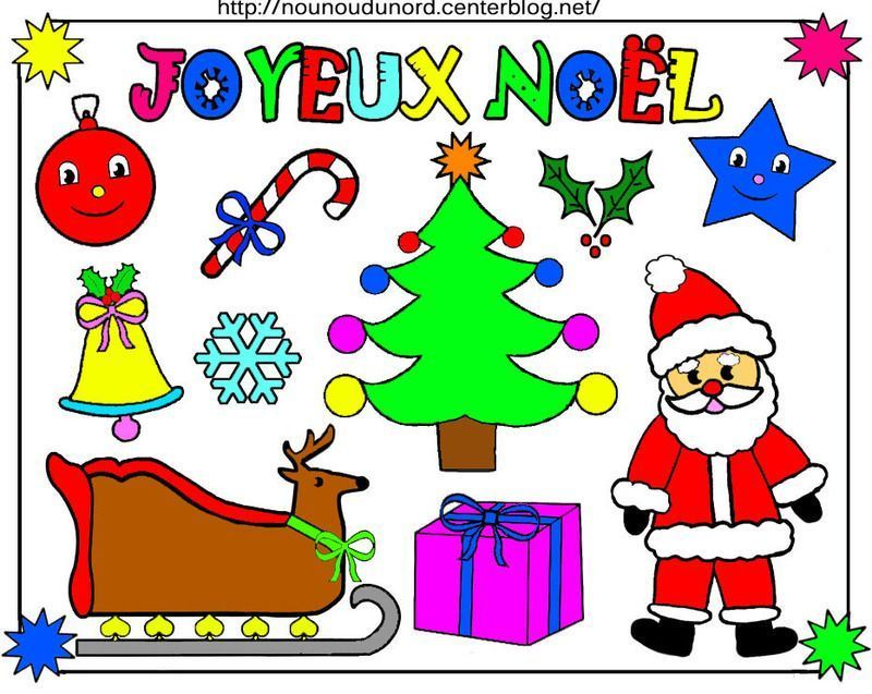 √ Dessins De Noel En Couleur A Telecharger