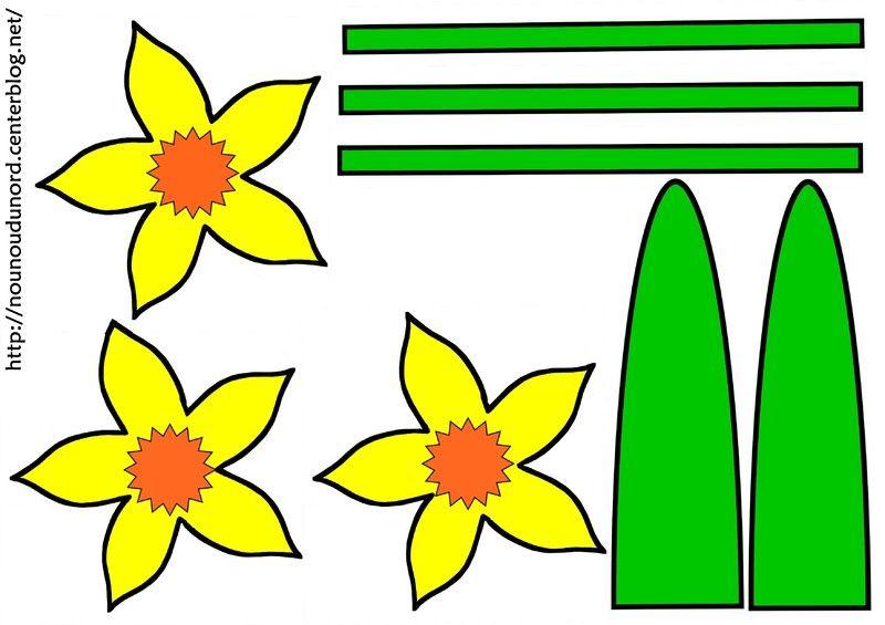 Coloriage fleurs nature - Dessin de fleur en couleur ...