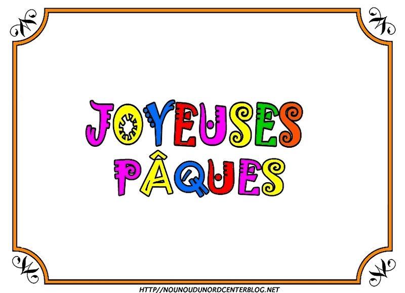 Coloriage Joyeuses Paques Maternelle.Ecriture Joyeuses Paques Coloriage Gommettes Couleur