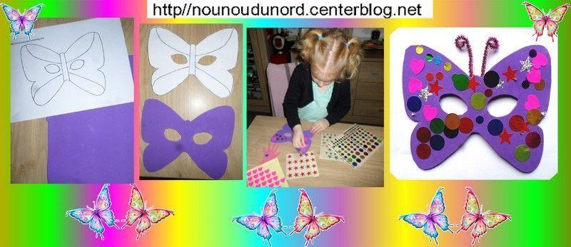 Couronne - Masque papillon carnaval ...