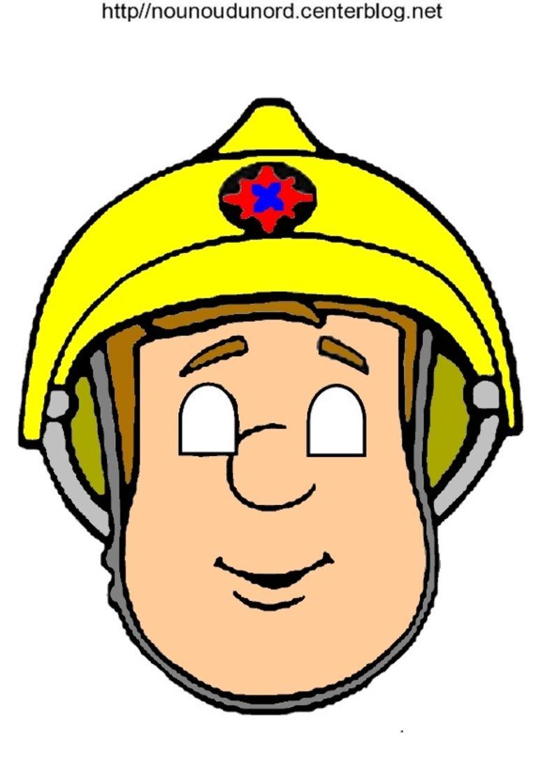 Masque sam le pompier - Sam le pompier noel ...