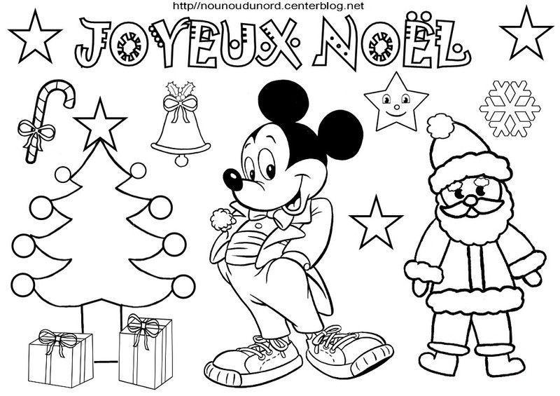 Coloriage noel heros des enfants - Coloriage minnie mickey ...
