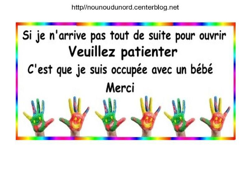 Affiches De Porte Chut Bébé Dort Ne Pas Sonner Merci