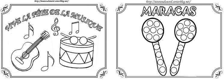 Coloriage instrument de musique maternelle www - Coloriage musique a imprimer ...