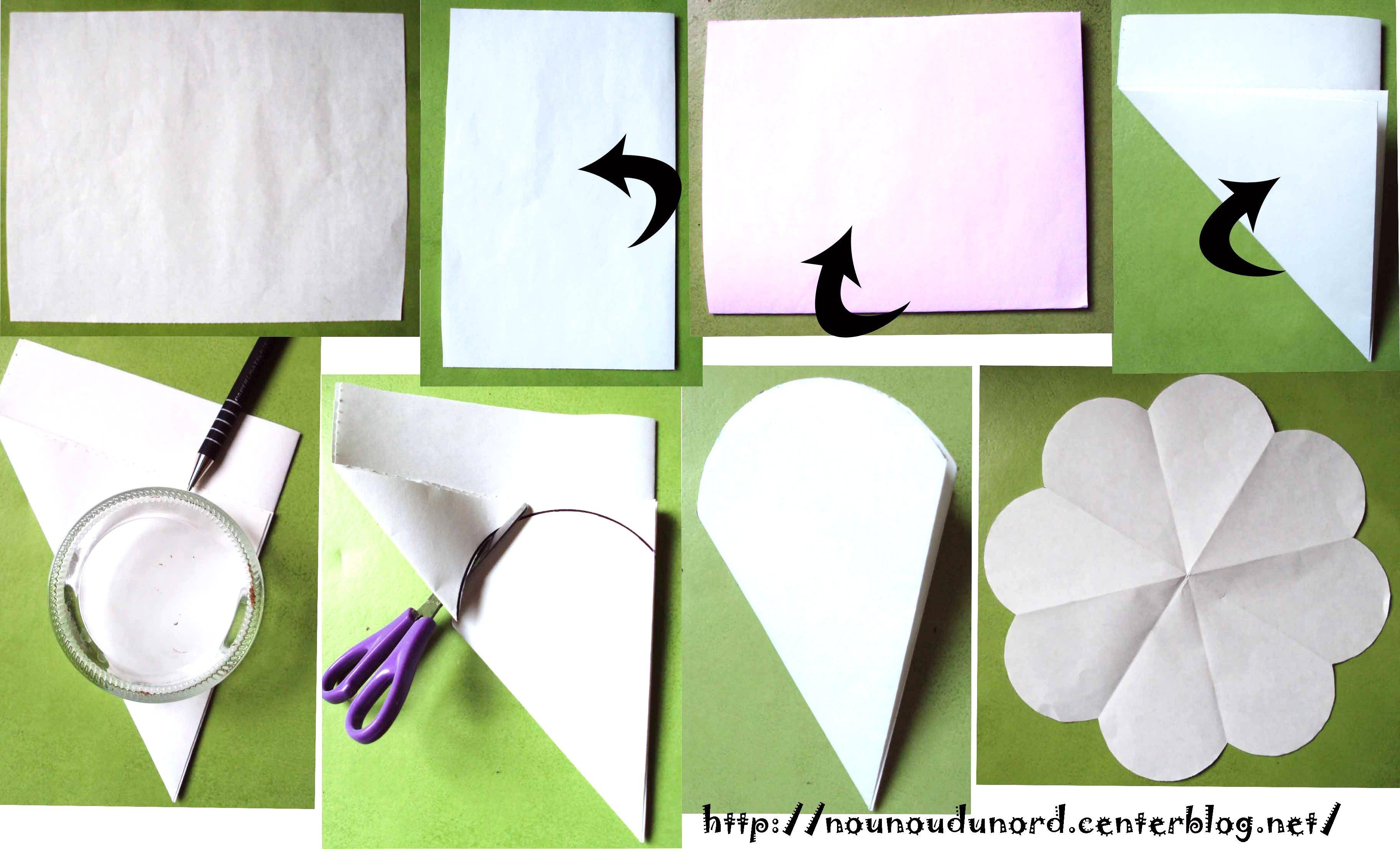 Activite gabarit carte fleur - Activite manuelle fleur ...