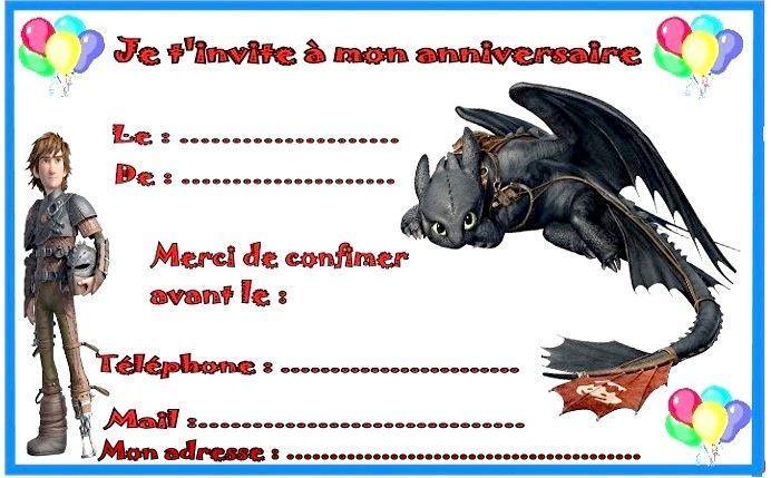 Etiquettes invitations dragon pour anniversaire - Image de dragon a imprimer ...