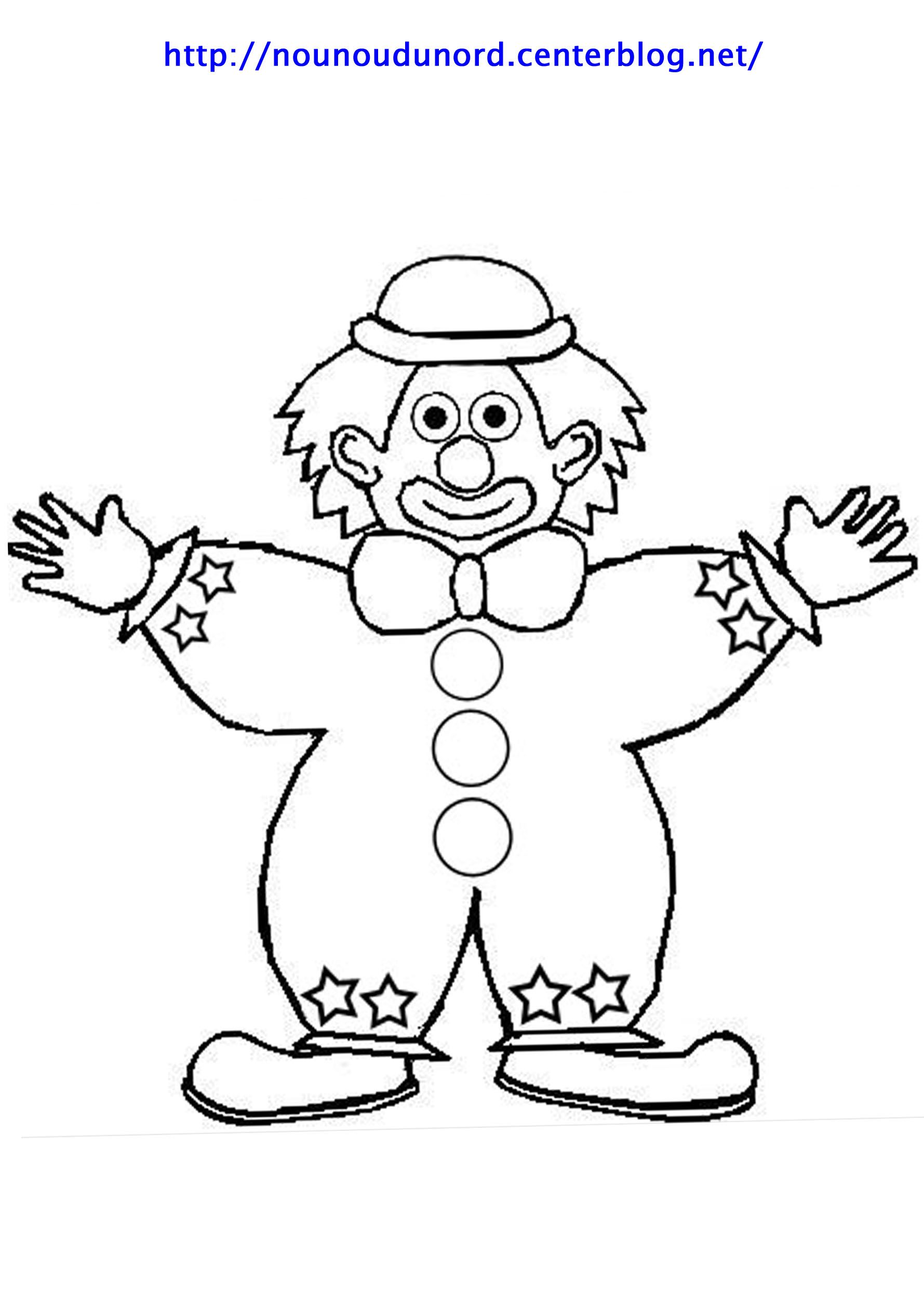 Coloriage clown page 2 - Coloriage clown a imprimer ...