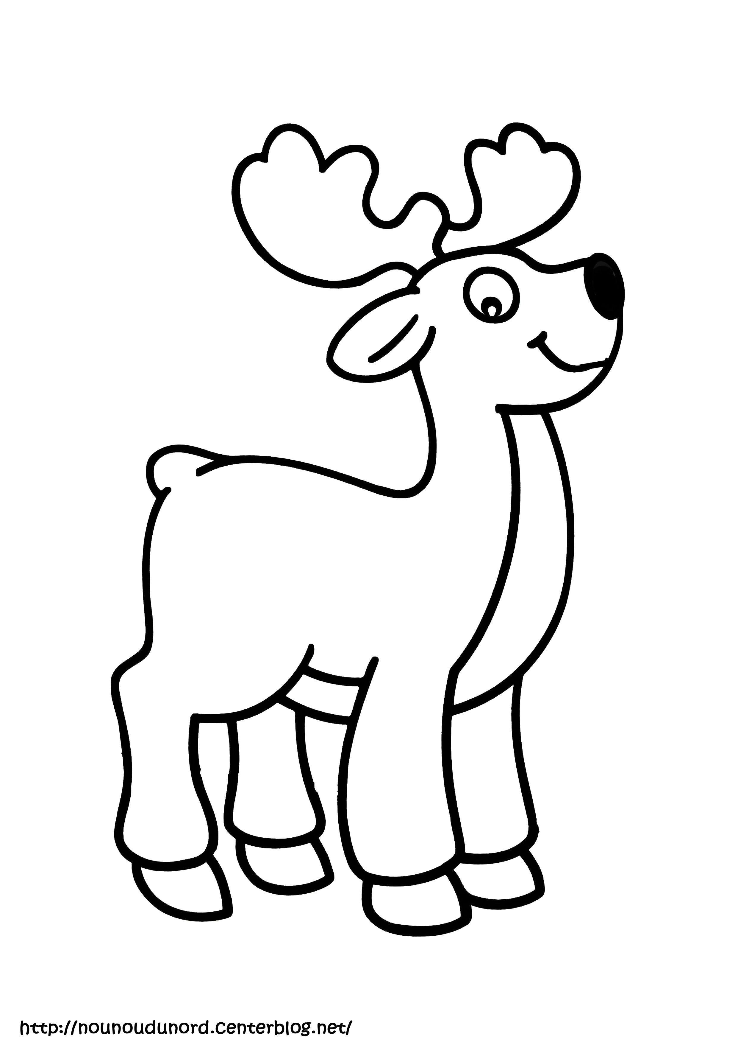 Coloriage animaux de la foret - Dessin d animeaux ...