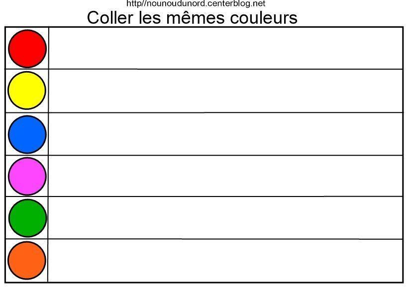 exercice adjectif de couleur pdf