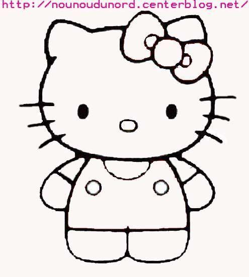 Hello kitty - Dessiner hello kitty ...