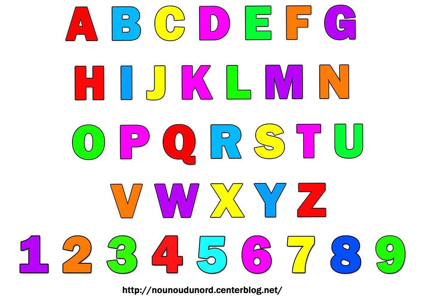 Gommettes alphabet et chiffres imprimer - Chiffre a imprimer gratuit ...
