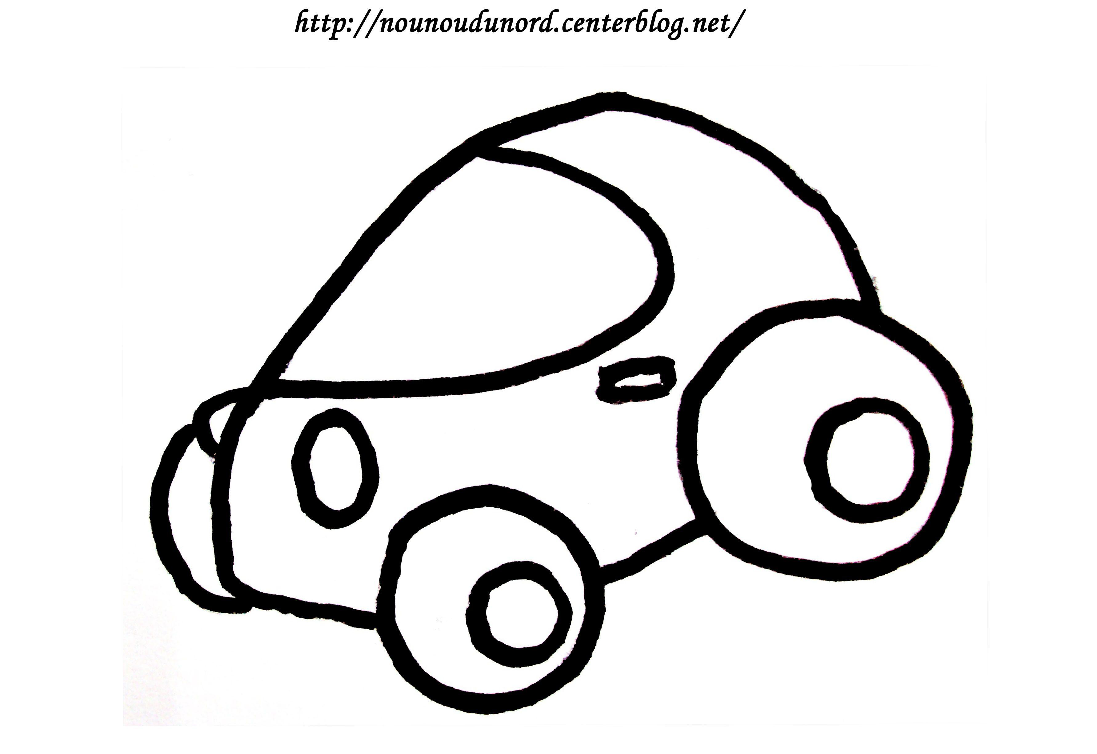 coloriage vehicule transport