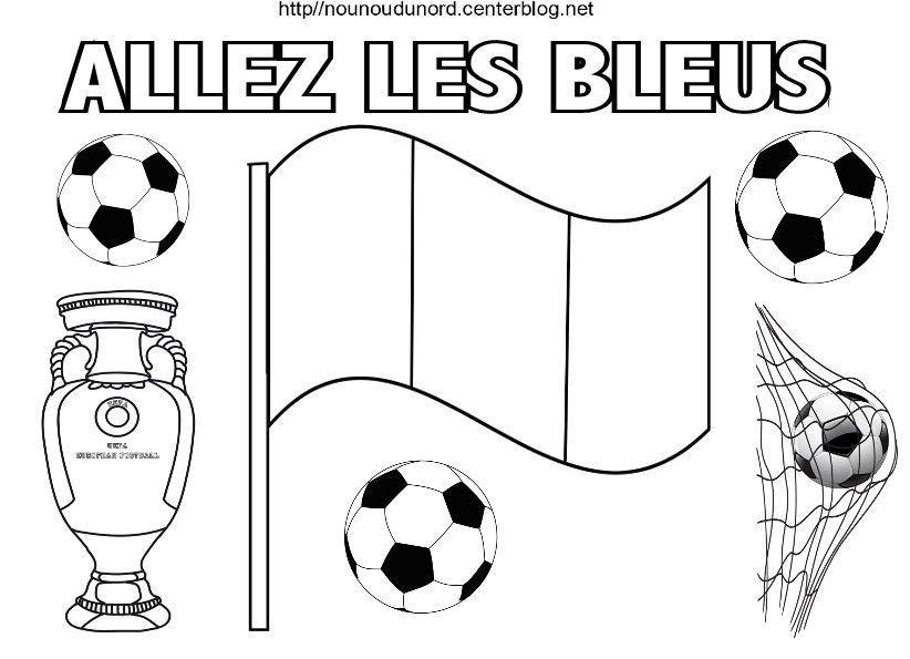 Coloriage De Football.Coloriage Football Terre Hap