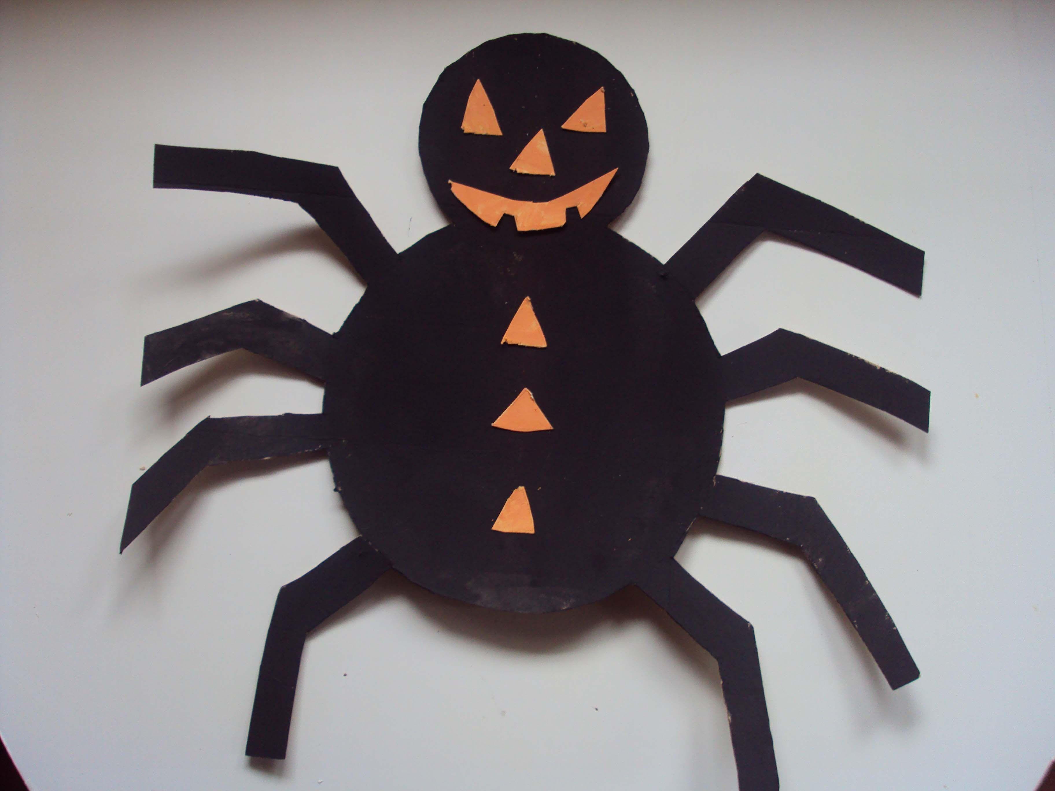 araignée dAxelle pour Halloween 2009