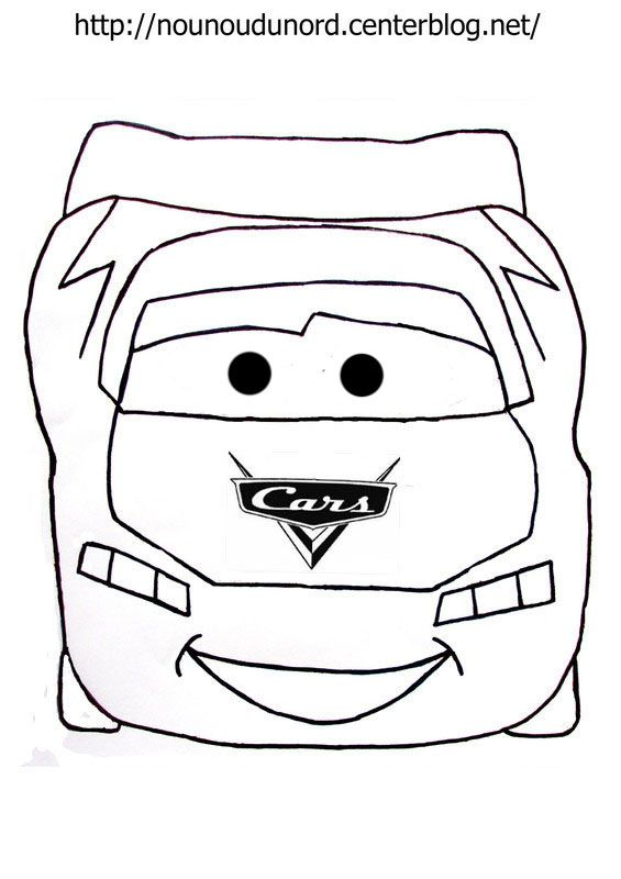 Coloriages cars - Coloriage cars halloween ...