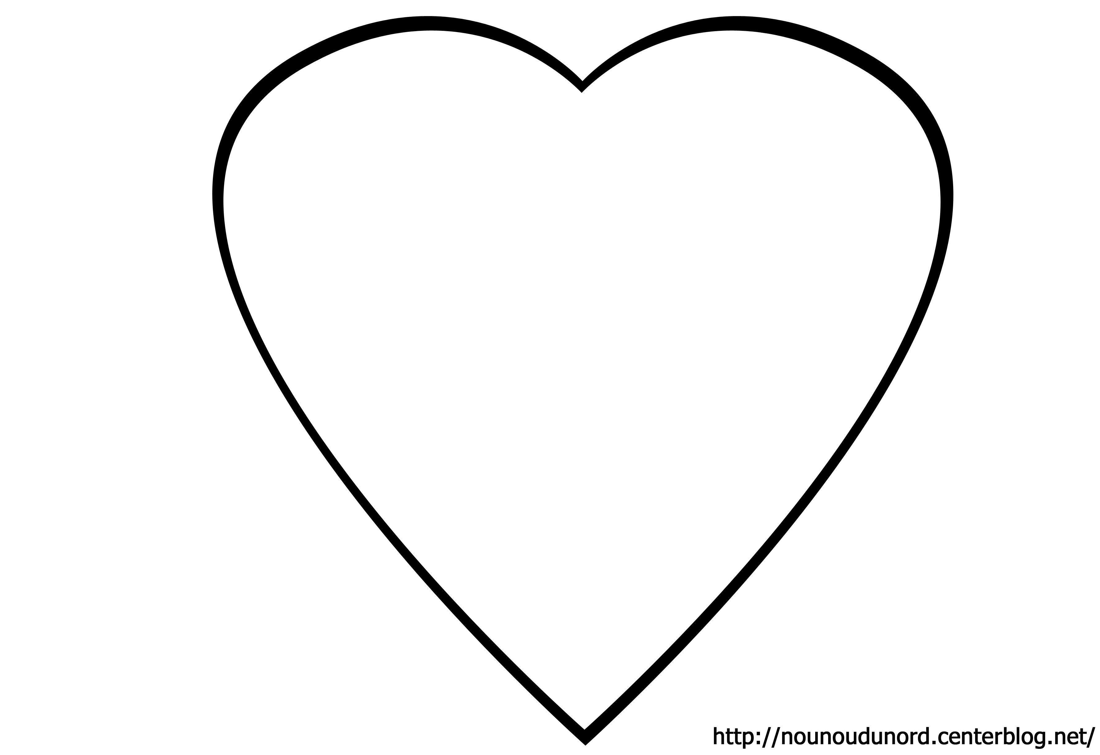 Coloriage coeurs st valentin - Coeur en dessin ...