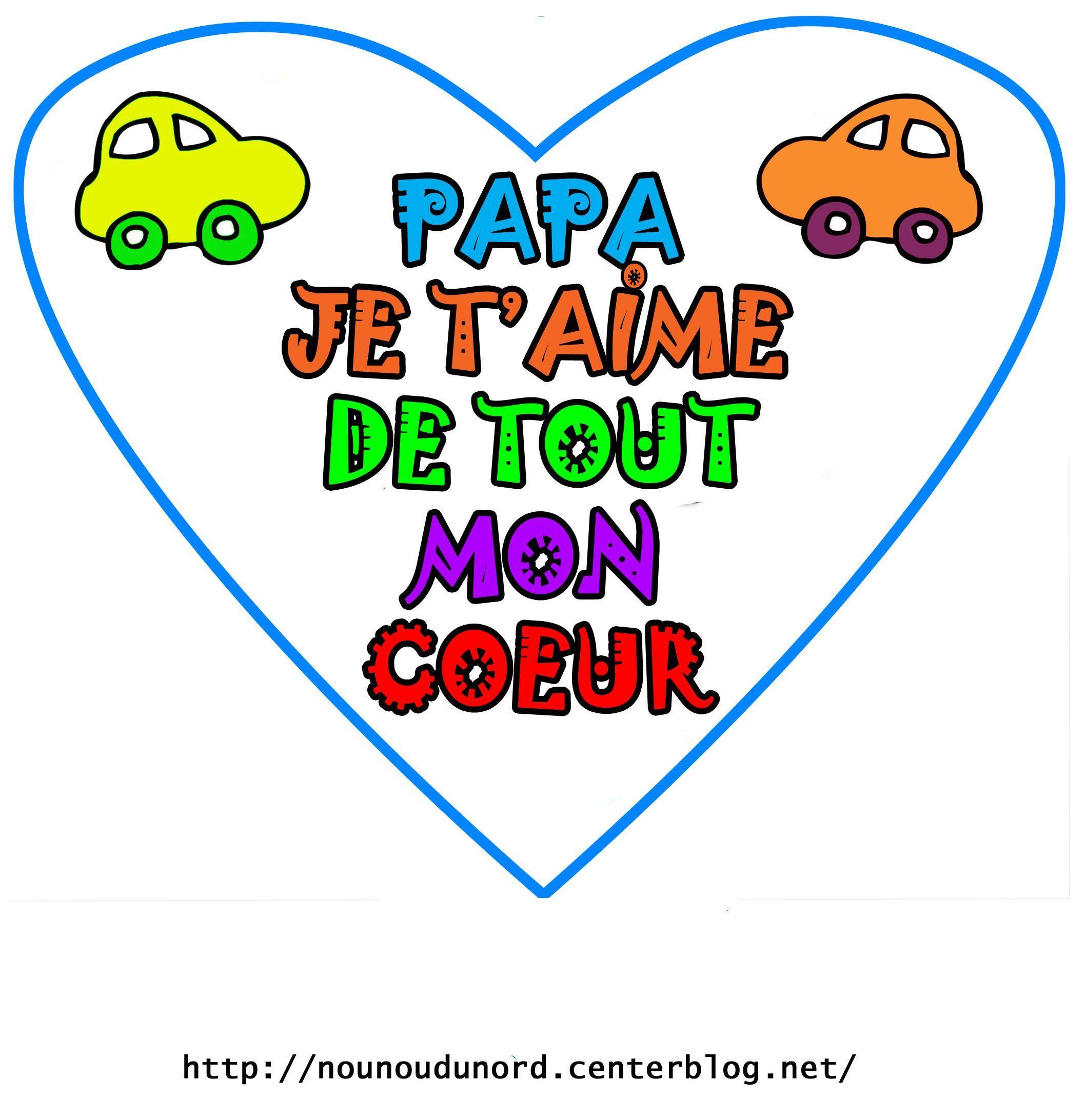 Coloriage fete des peres poemes gif - Mot pour la fete des peres ...
