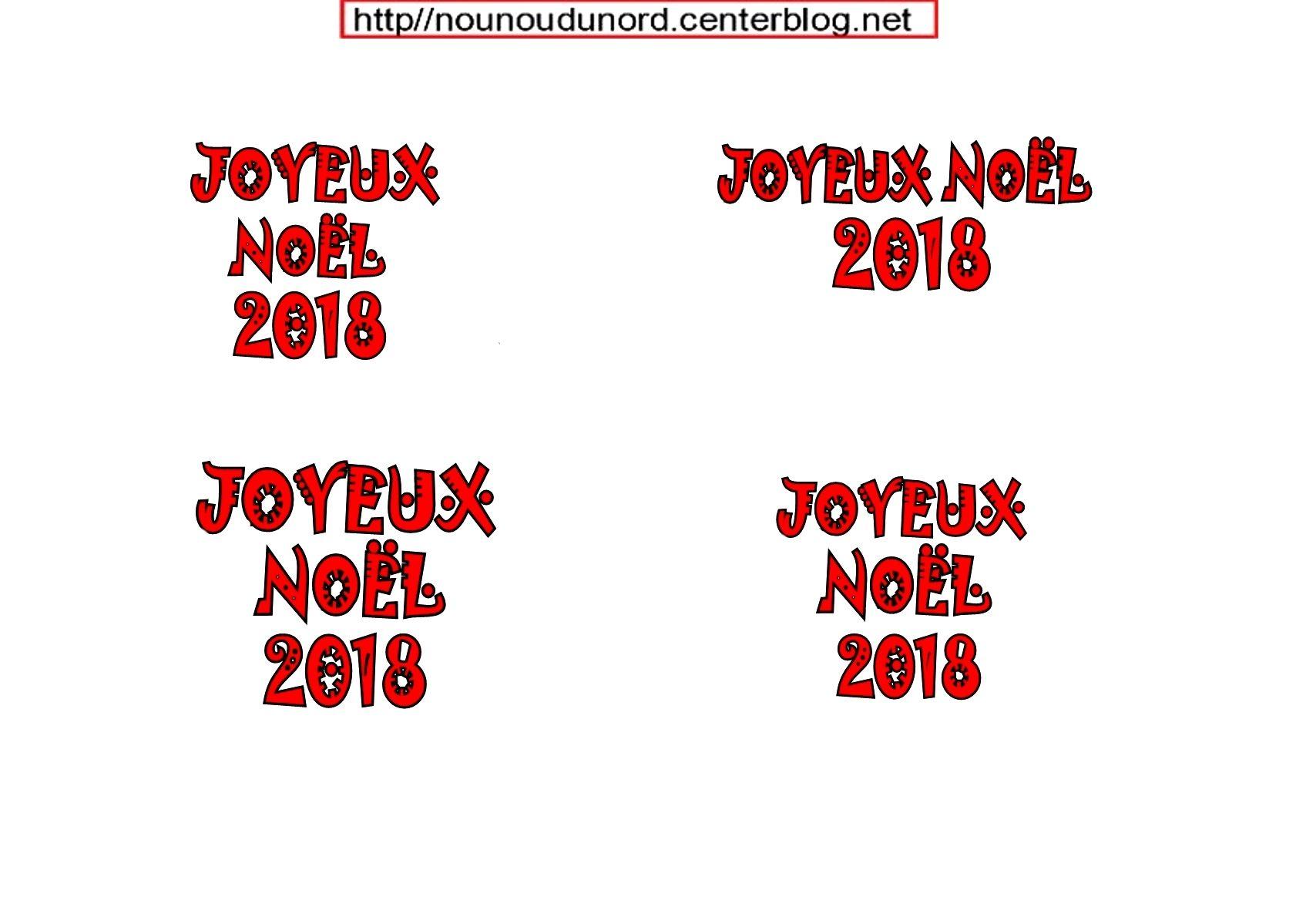 Joyeux Noel 2018 Pour Mettre Dans Les Boules