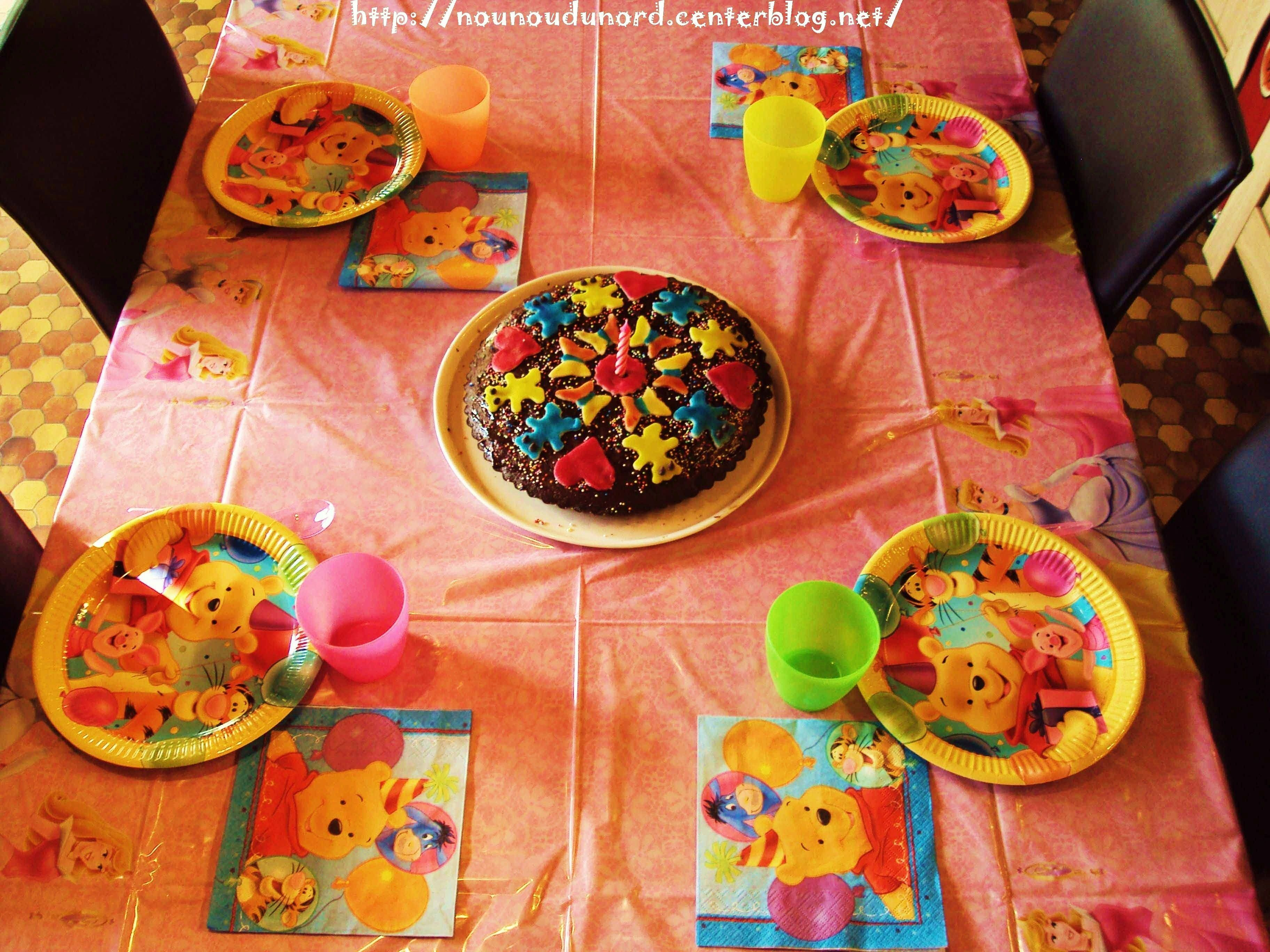 Table d 39 anniversaire pour soline 1 an fevrier 2011 - Table d anniversaire ...