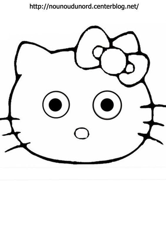 Coloriage hello kitty a imprimer - Coloriage hello kitty printemps ...
