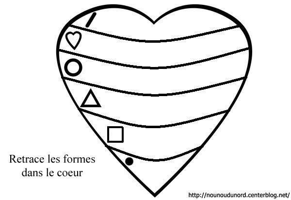 Coloriage coeurs st valentin page 3 - Dessin de saint valentin ...