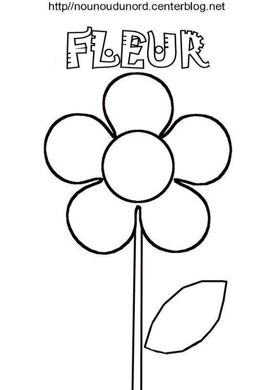 Fleur coloriage pour gommettes en couleur - Coloriage fleur 8 petales ...