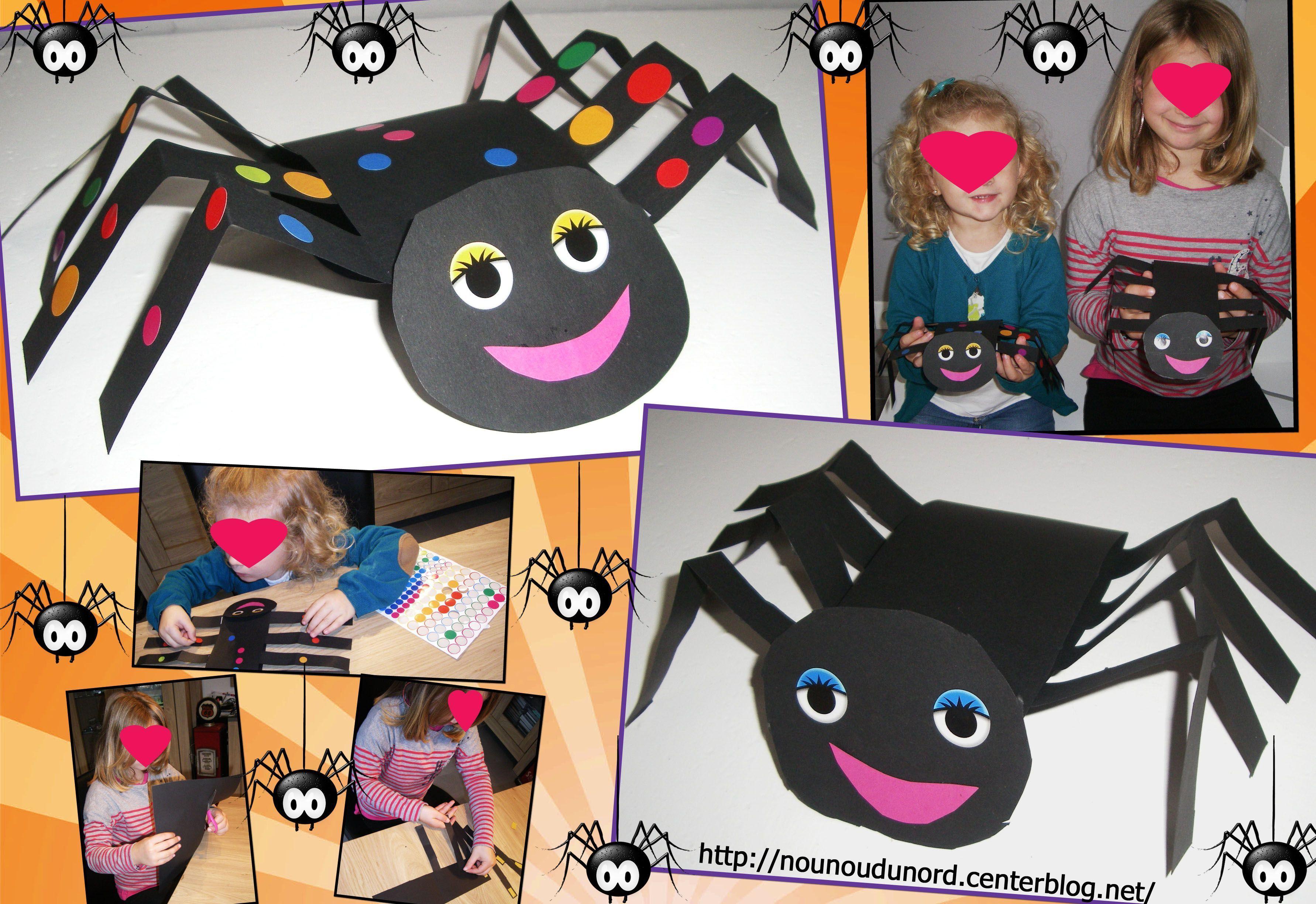 des araign es pour halloween 2012. Black Bedroom Furniture Sets. Home Design Ideas