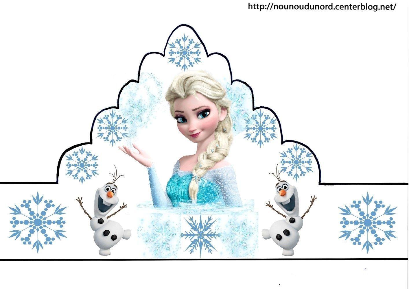 Coloriage galette des rois epiphanie - Image reine des neige ...